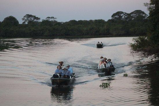 passeio de barco - Foto de Pousada Rio Claro, Poconé - Tripadvisor