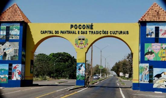 ENTRADA DA CIDADE DE POCONÉ - Foto de Pousada Rio Claro, Poconé - Tripadvisor